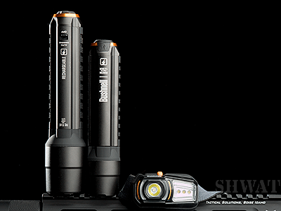 Bushnell Rechargeable flashlights