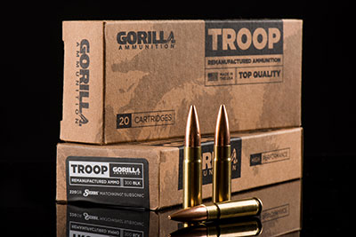 Gorilla Ammunition Troop line