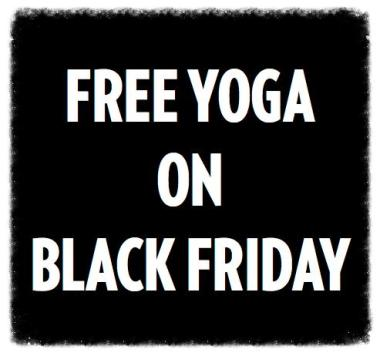 black friday deals, free yoga, sterling hot yoga