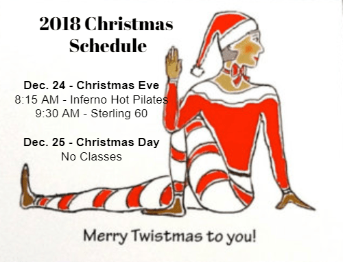 Christmas Yoga Schedule Holiday Schedule Sterling Hot Yoga Mobile
