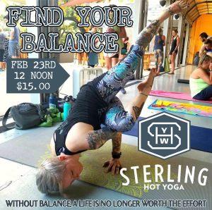 Arm Balance Workshop Sterling Hot Yoga Mobile AL