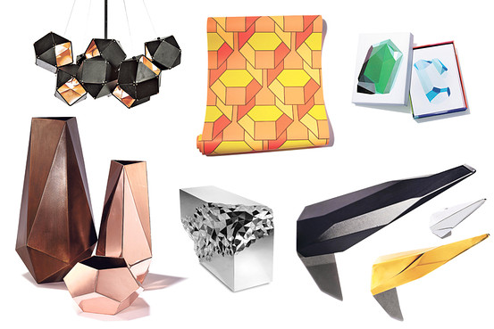 Faceted Furniture and Designs - WSJ