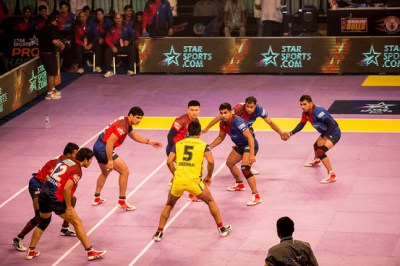 In Pictures: India's Pro Kabaddi League Teams Grapple for Victory - India Real Time - WSJ