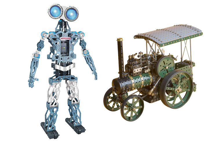 Meccano Robot Rise Of The (toy) Machines: Meccano's Meccanoid Robot Is