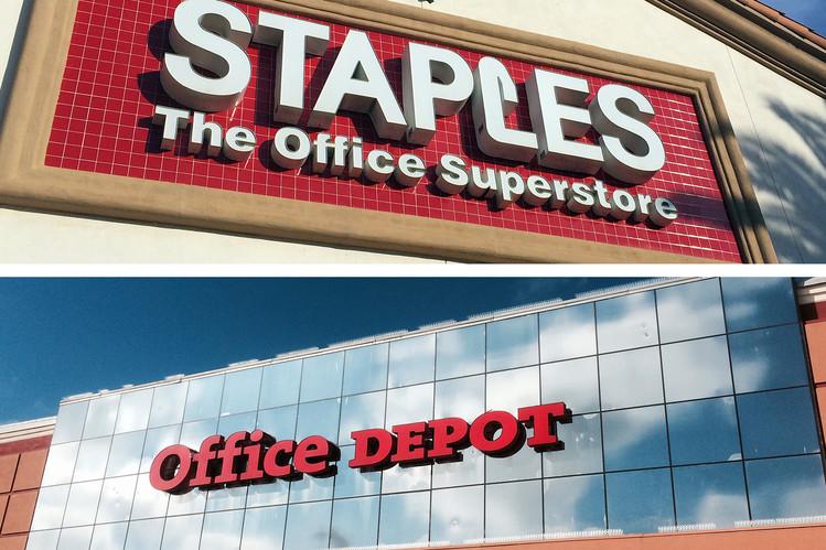 Staples, Office Depot in Advanced Talks to Merge - WSJ