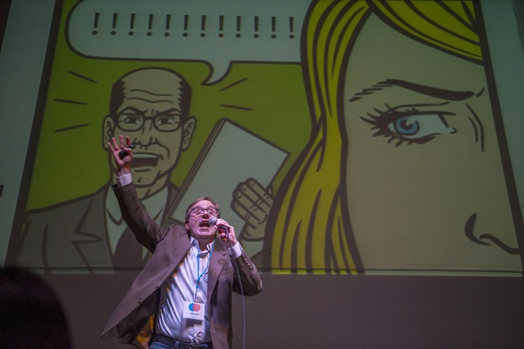 PowerPoint Karaoke Brings Stress Relief to Silicon Valley\u0027s