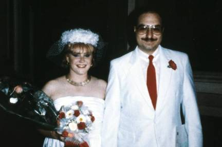 Anne Henderson Pollard and Jonathan Pollard at their wedding Aug. 9, 1985, in Italy.