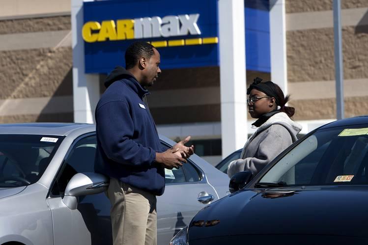 CarMax Profit Falls on Soft Used-Car Sales - WSJ