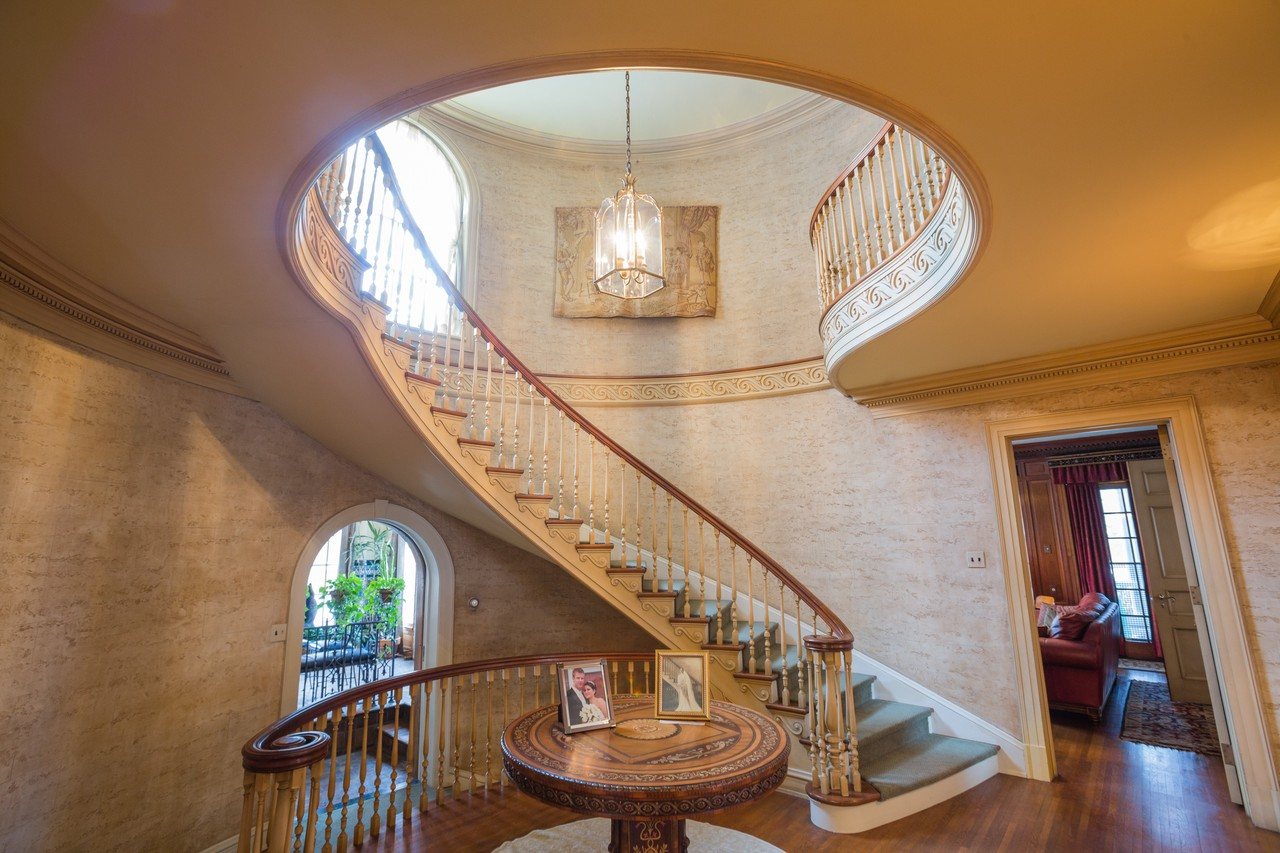 Staircases In Homes Flights Of Fancy 20 Opulent Staircases In Luxury Homes Wsj