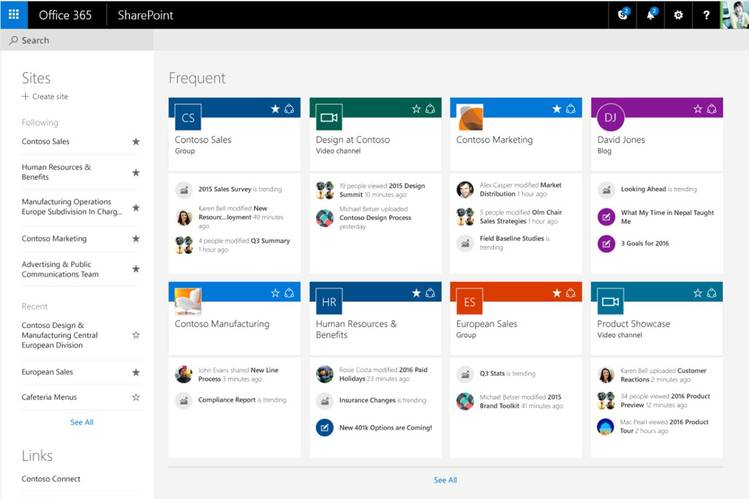 Microsoft Aims to Wrangle Data for Office Teams With SharePoint