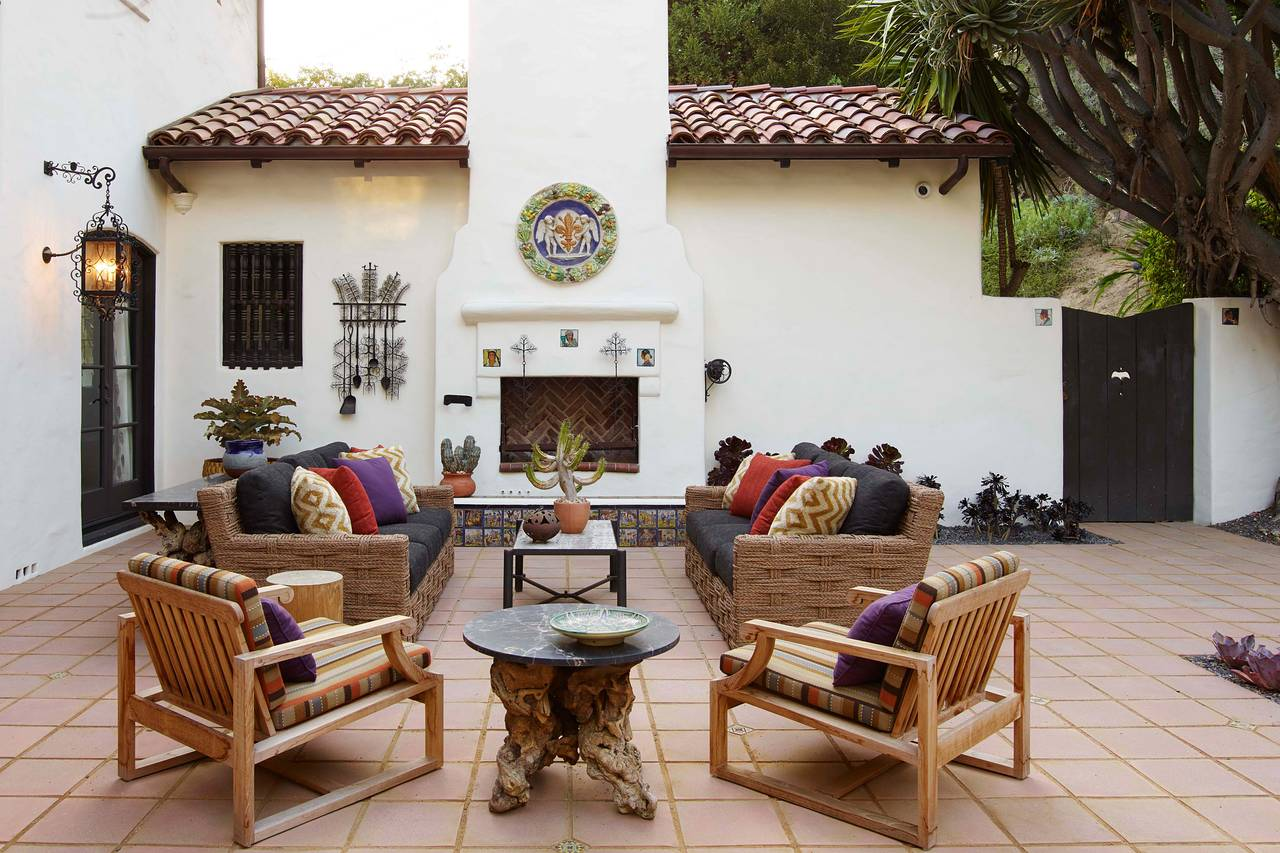 Spanish Revival Interior Design Big Bang Theory Star Jim Parsons S 1920s Spanish Revival Home Wsj