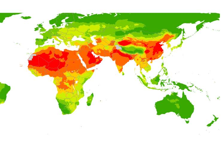 This Map Shows the Severity of India\u0027s Pollution Problem - India