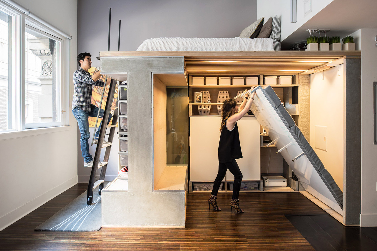 Studio Appartement The Designer Shoebox Studio Apartments That Use Every Inch Wsj