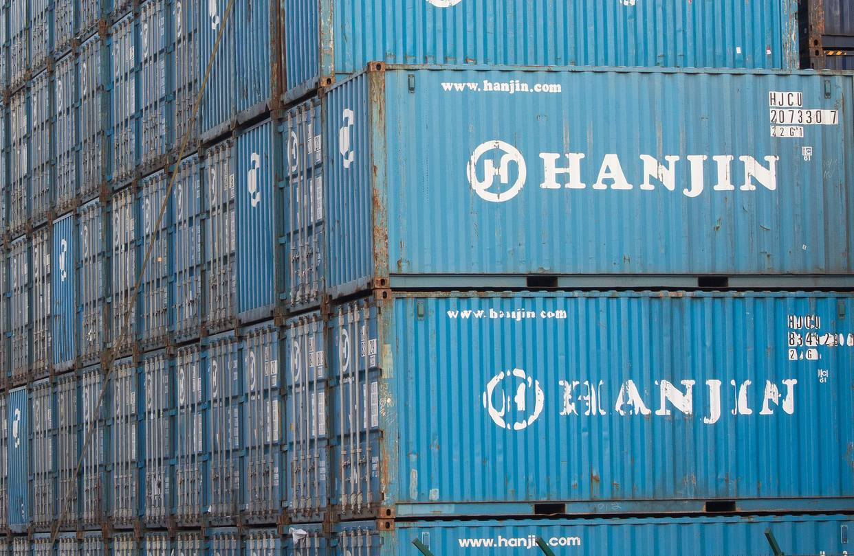Container Kaufen Hamburg Hanjin To Sell Stake In U S Terminal To Mediterranean Shipping Wsj