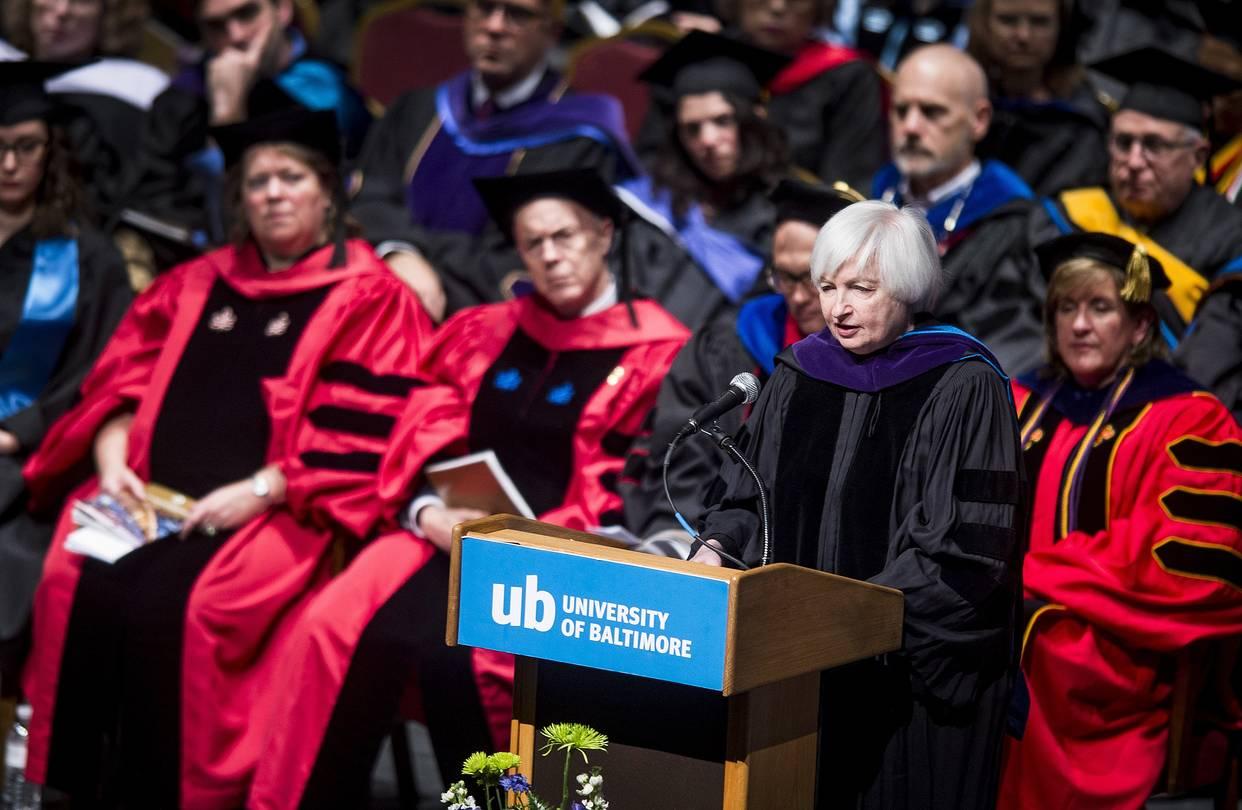 Yellen globalization makes higher education increasingly important wsj