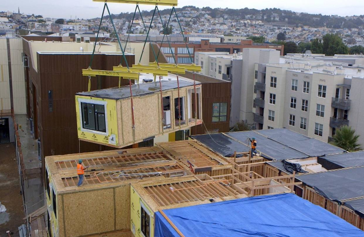 To Residential Construction Google Will Buy Modular Homes To Address Housing Crunch Wsj