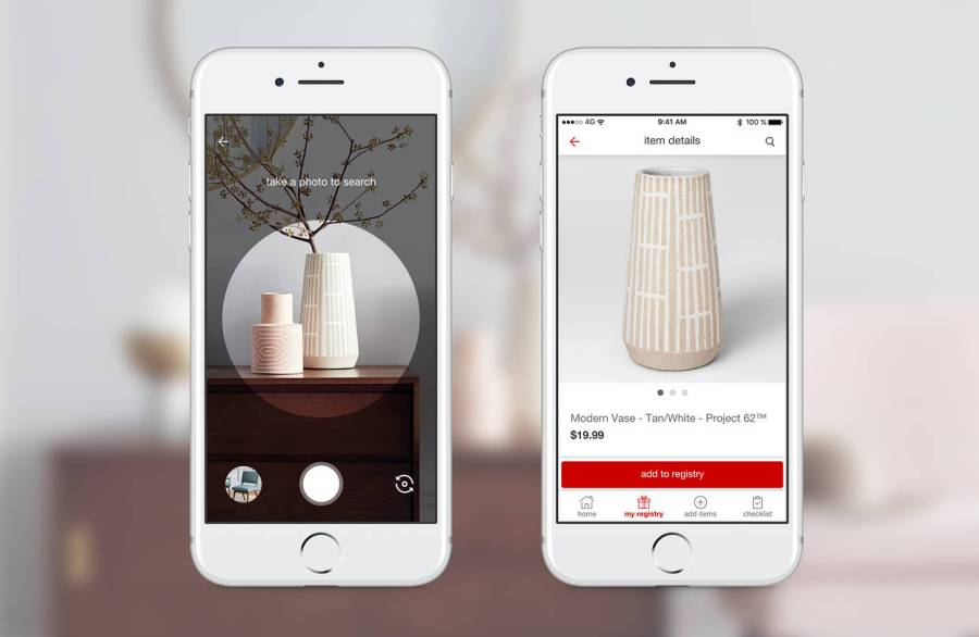 Target Embedding Pinterest Camera Search Tool in Its App