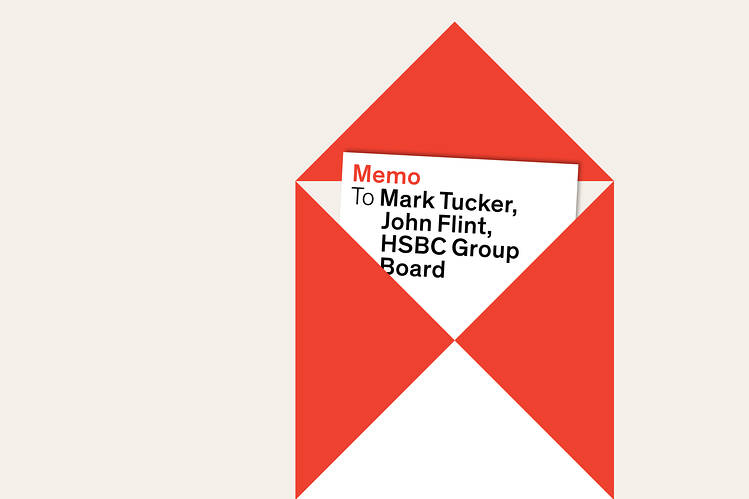 After the infamous memo The week that shook HSBC