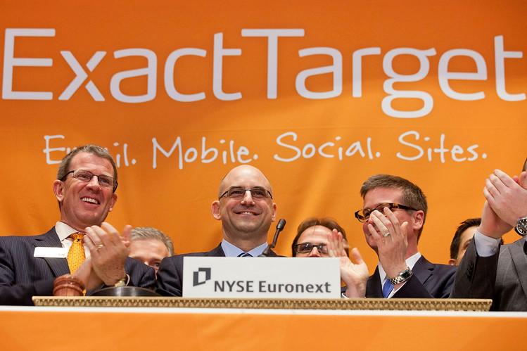 Salesforce to Buy ExactTarget for $25 Billion - WSJ