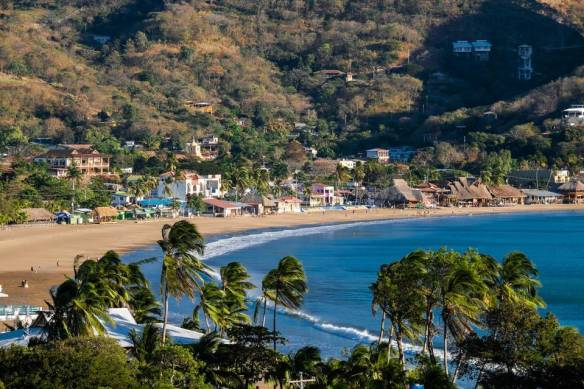 HOLY COWABUNGA | The beach at San Juan del Sur, a former fishing village that has grown into a laid-back surf resort on Nicaragua's Pacific Coast.