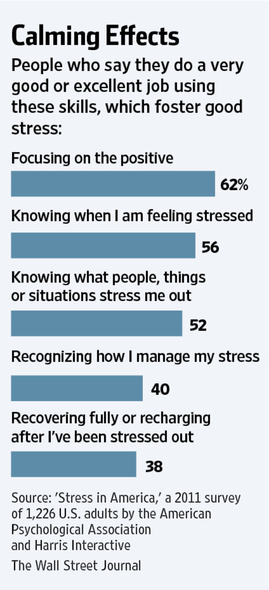 When Stress Is Good for You - WSJ - Work Articles
