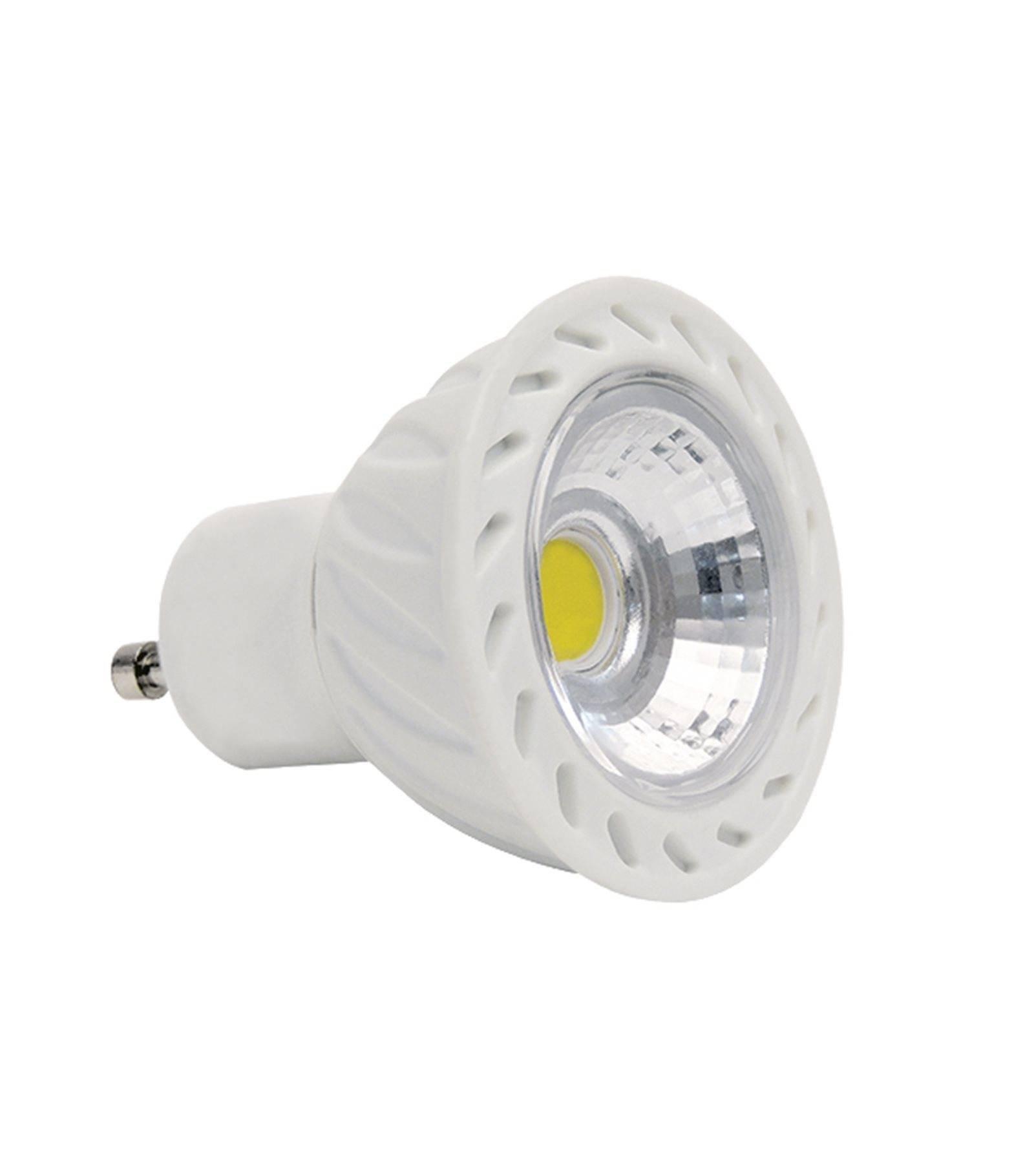 Ampoule Dimmable Ampoule Led Gu10 Dimmable Cob 7w 500lm équiv 42w Blanc