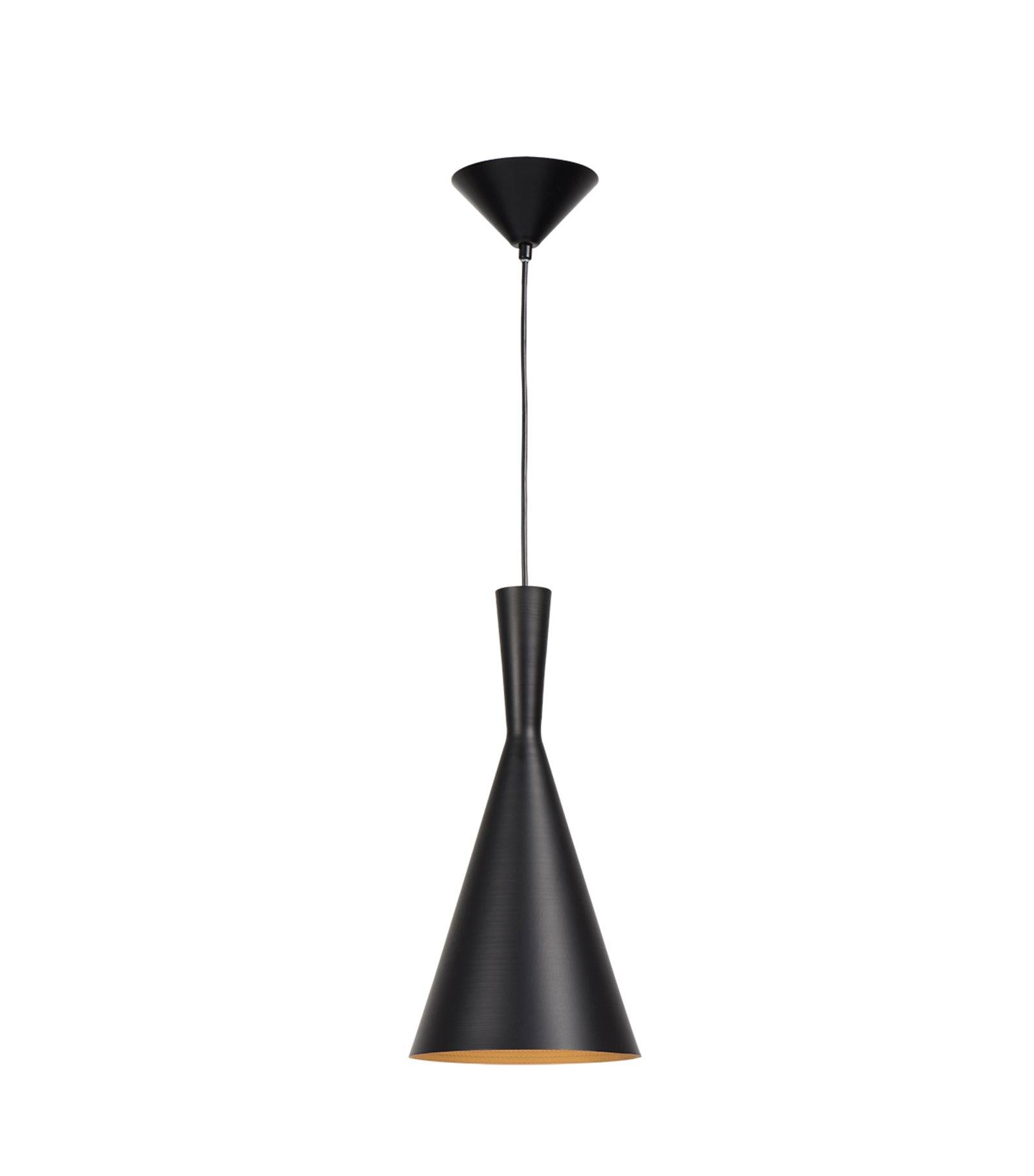 Luminaire Suspension Trendy Plafonnier Luminaire Suspension Bellie Noir Conique