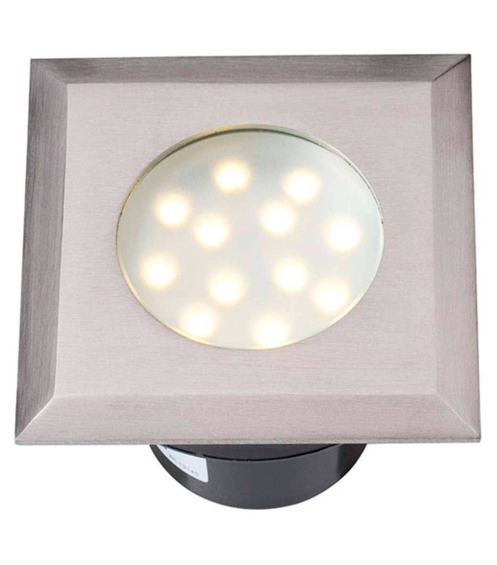 Spot Led Exterieur Osram Spot Encastrable Elara 2w Platine Led Ip68 Blanc Chaud