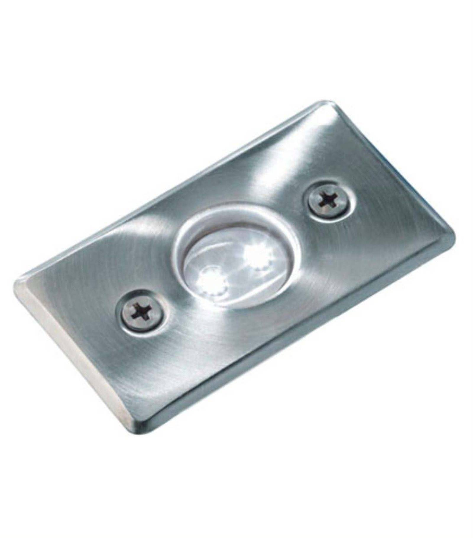 Spot Led Exterieur Osram Spot Encastrable Axis Blanc 5w Platine Led Ip68 Blanc