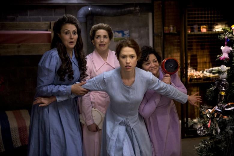 De fire kidnappede kvinder i bunkeren