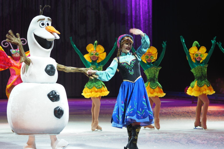 Olaf og Elsa - Disney On Ice