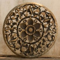 Buy Tree Dimensional Floral Wooden Wall Hanging Online