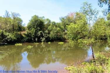 Riverfront land for sale in Pranburi