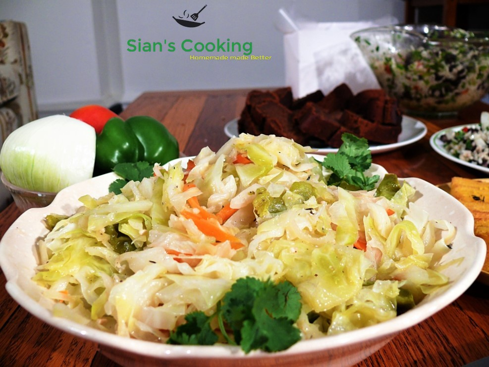Steamed Cabbage Recipe
