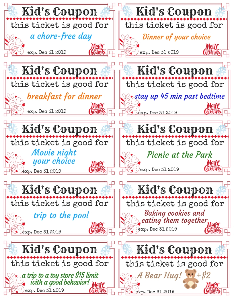 Movie Park Coupon Kid S Coupons For Christmas 2018
