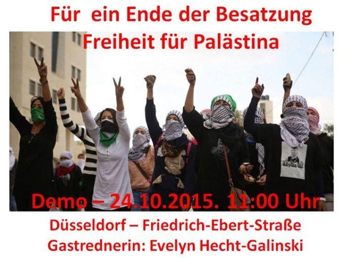 demo palästina