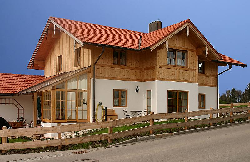 Holz Im Bad Wohnhaus In Bad Endorf 3d Planung