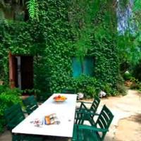 Dans le jardin du B&B Il Glicine sul Golo à Mondello