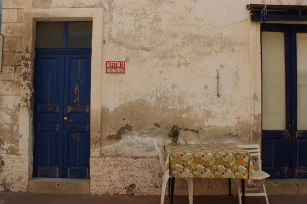 Dans les rues de Salina ©Irène Cavallaro