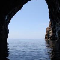 La grotte du cheval à Vulcano