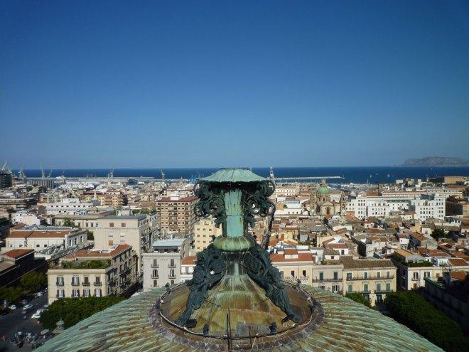 Palerme, vu du toit du Teatro Massimo