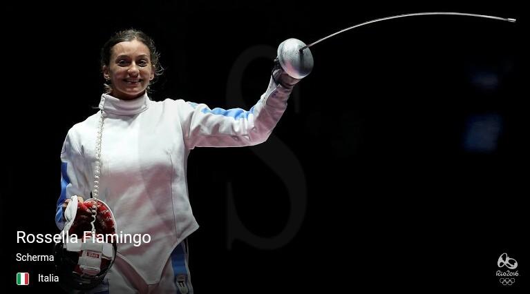 Rio 2016, scherma: Rossella Fiamingo