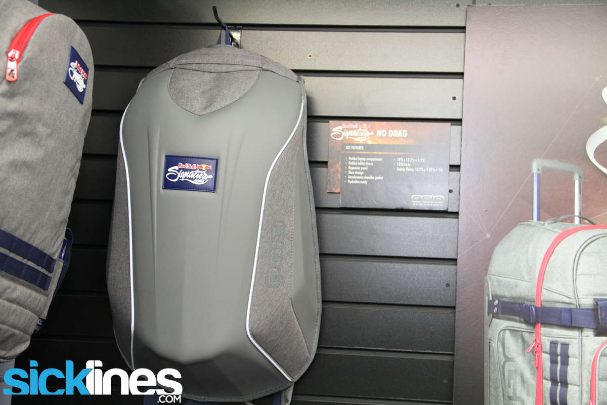 2014 Red Bull Signature No Drag Bag Backpack Ogio Interbike Sick Lines Gallery