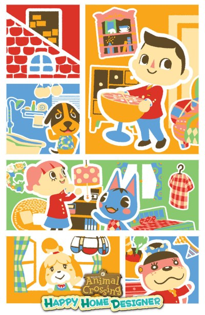 Animal Crossing: Happy Home Designer Pre-Orders From GameStop Come With Poster | My Nintendo News