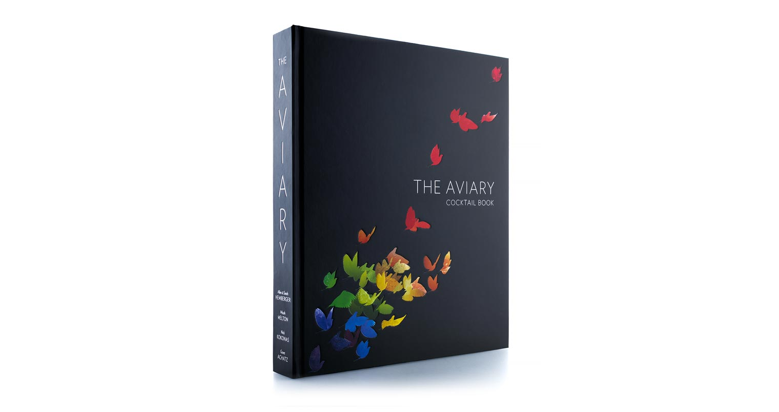 California Alinea Must Read The Aviary Cocktail Book Side Bar