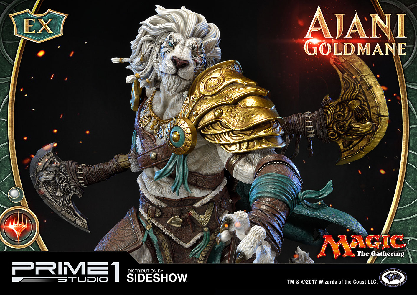 Mtg Online Shop Magic The Gathering Ajani Goldmane Statue By Prime 1 Studio