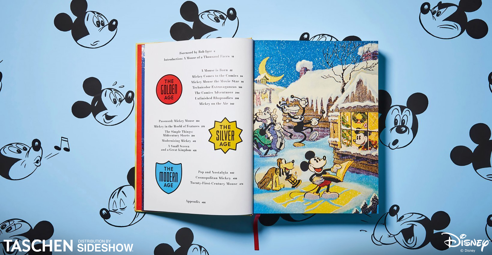 Disney Mickey Taschen S Walt Disney S Mickey Mouse The Ultimate History Hardcover