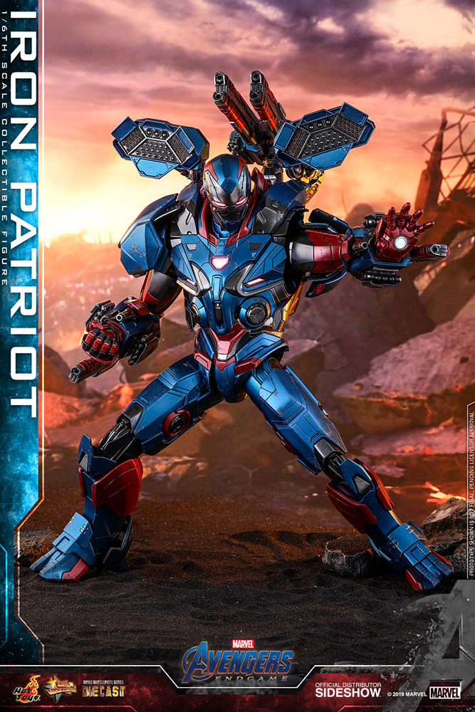 Lego Storage Iron Patriot Sixth Scale Figure By Hot Toys | Sideshow