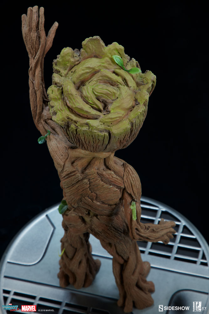 Baby Groot Guardians Of The Galaxy Marvel Baby Groot Maquette By Sideshow Collectibles