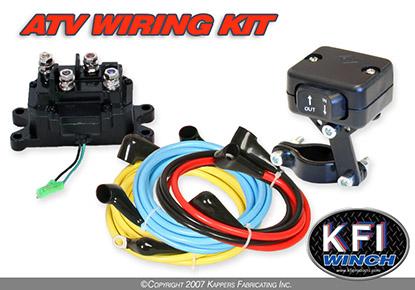 Atv Winch Wiring Kit Wiring Diagram